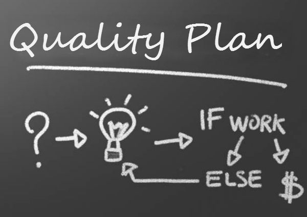 simple quality plan